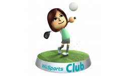 Wii Sports Club art golf
