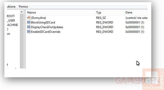 windows phone update storage