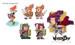 Wonder Boy: The Dragon's Trap - Il y aura aussi Wonder Girl
