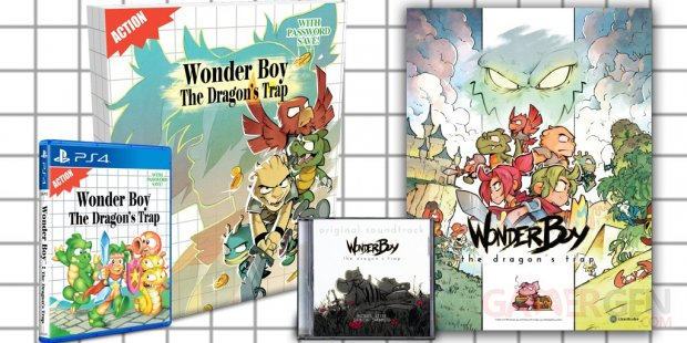 Wonder Boy The Dragons Trap Collector
