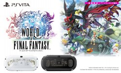 World of Final Fantasy PSVita console collector images (1)