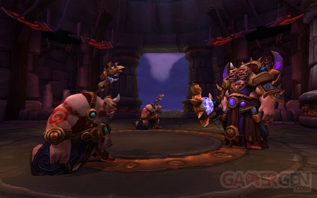 wow world warcraft warlords draenor cognefort margok