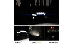 WRC 5 courses de nuit