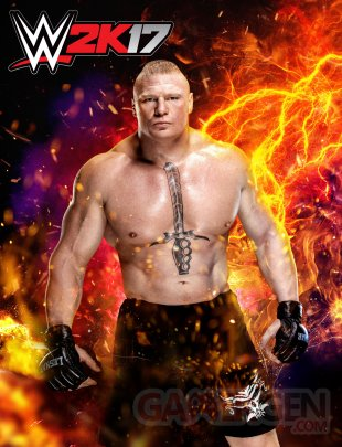 WWE 2K17 art
