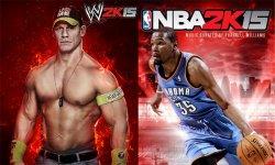 WWE NBA 2K15 head