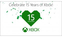 Xbox 15 ans