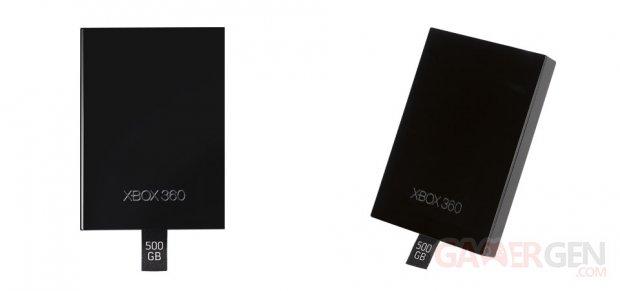 xbox 360 500gb harddrive