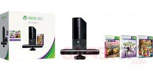 Xbox 360 E 4Go bundle kinect