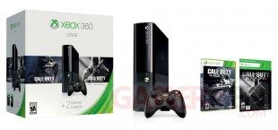 Xbox 360 E 500 Go bunle Call of Duty