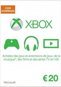 Xbox Live carte 1