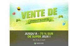 xbox live vente printemps 2014.