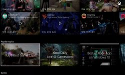 Xbox One 07 08 2015 nouvelle interface menu 2