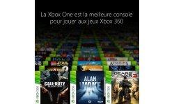 Xbox One 360 rétrocompatibilité