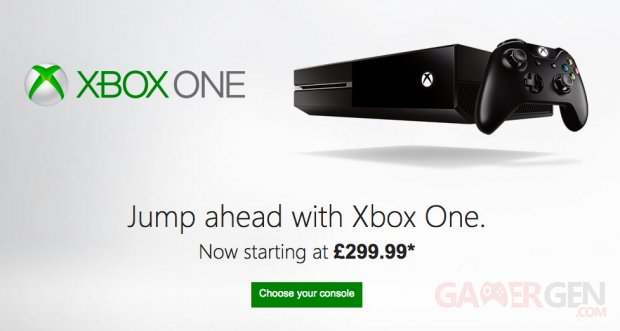 xbox one une nouvelle baisse de prix au royaume uni. Black Bedroom Furniture Sets. Home Design Ideas