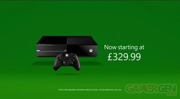 Xbox One baisse de prix