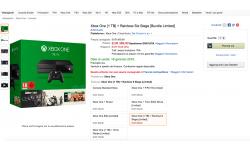 Xbox One bundle Rainbow Six Siege