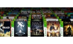 Xbox One jeux Xbox 360 re?trocompatibles