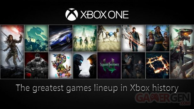 Xbox One line up 2015 2016