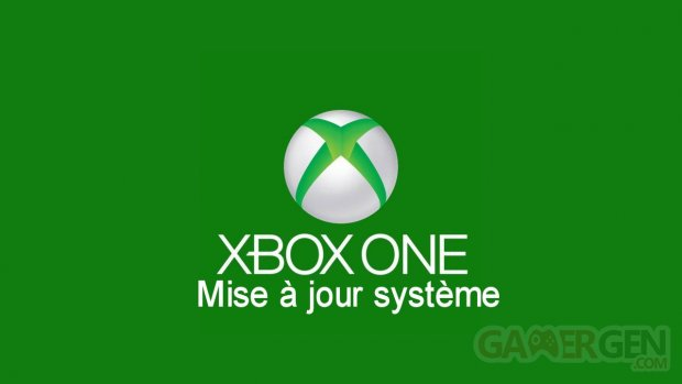 Xbox One maj mise a jour systeme logo 11.12.2013.