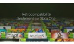 xbox one microsoft jeux xbox 360 retrocompatibles liste
