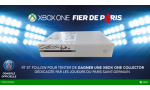 xbox one microsoft xbox one console blanche concours collector psg