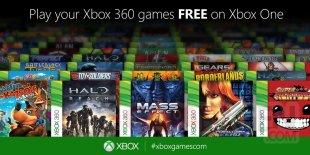 Xbox One rétrocompatibilité 1