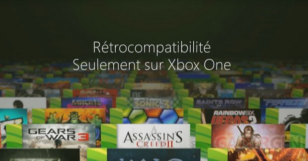 Xbox One retrocompatibilite