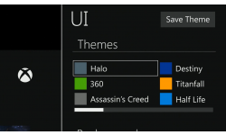 xbox one systeme themes