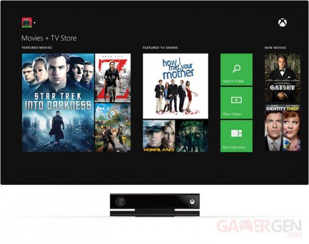 Xbox One TV télévision service 1