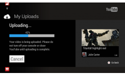 Xbox One upload YouTube