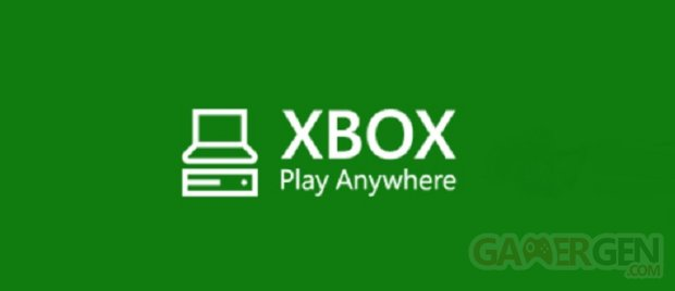 Xbox Play Anywhere logo head