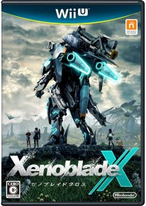 Xenoblade Chronicles X jaquette japonaise