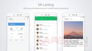 Xiaomi conference MIUI 8 Mi Lanting font