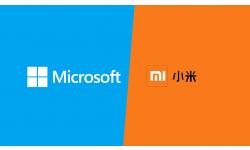 Xiaomi Microsoft logos partenariat