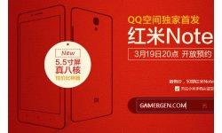 Xiaomi Redmi Note Hongmi2 Red Rice