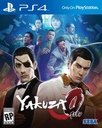 Yakuza 0 Zero US cover