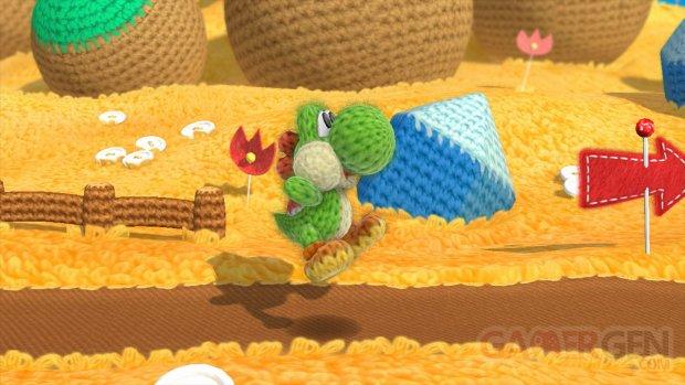 Yoshi woolly world screenshots wiiu  (1)