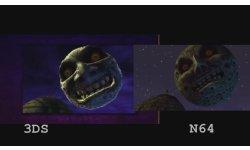 zelda majoras mask comparaison 3ds n64