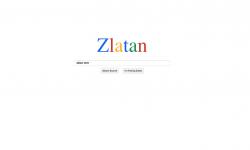 Zlatan Google