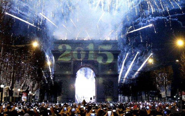 2015 Arc de Triomphe