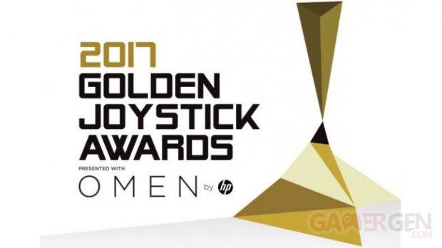 2017 Golden Joystick Awards logo
