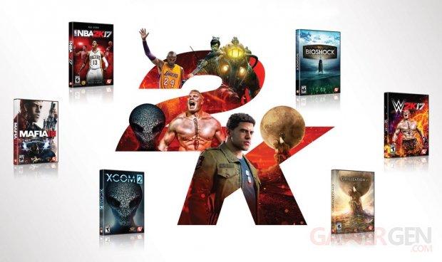 2K Games logo head 2016