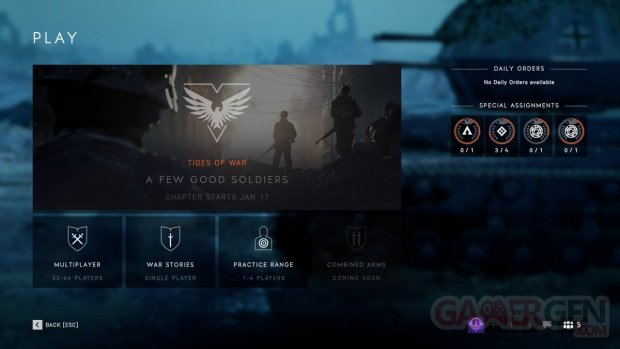 A Few Good Soldiers Battlefield V