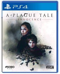 A Plague Tale Innocence jaquette PS4 29 01 2019