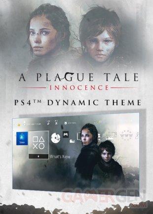 A Plague Tale Innocence thème PS4 28 02 2019