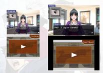 Ace Attorney Trilogy Comparaison 3DS DS 13