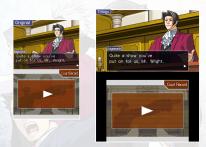 Ace Attorney Trilogy Comparaison 3DS DS 1