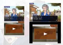 Ace Attorney Trilogy Comparaison 3DS DS 3
