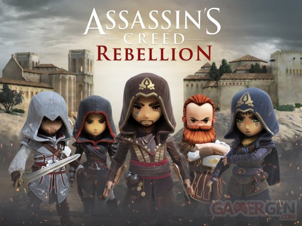 ACR Assassin's Creed Rebellion keyart