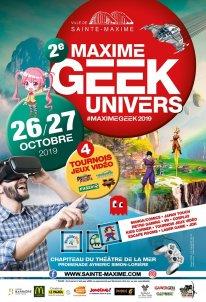 Affiche 2019 Maxime Geek Univers